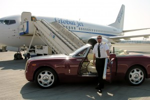 In Dubai after Delivery of a B737