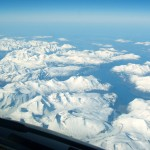 Over Greenland at 37000 Feet